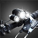 WEST BIKING Cycling Light 3000LM Bicycle 10W High Power CREE 3 Head XML T6 LED Led Headlamps Bike Ligh