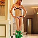 Chrismas sexy árbol bikini rojo y verde para adultos traje de mujer de Navidad