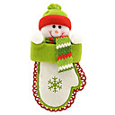 Christmas Gifts Decorating Snowman Shaped Hang Non-woven Fabric 19.119.11cm