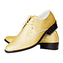 Image For TPU Gold Dress Shoes
