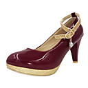 Womens Stiletto Heel Round Toe Pumps/Heels Shoes (More Colors)