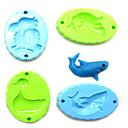 23pcs coloridos moldes de plastilina establece las herramientas juguetes