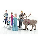 muñeco de nieve congelada olaf juguetes muñecas ann princesa (6pcs / lot)