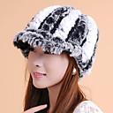 accesorios de piel sombrero de piel de conejo rex piel ocasión especial / sombrero informal (más colores)