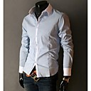 blcoking delgado del color-fittingshirt hombres manlodi