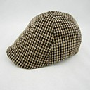 Boys Fashion High Grade Plus Thick Tweed Ivy Cap for 8-12 Years