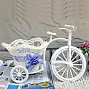 1pcs blanco cesto grande para guardar las bicicletas de la rueda rota natural (entrega al azar)