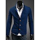 hillgo moda de manga larga traje cómodo de los hombres