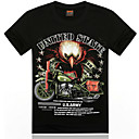 kamp;de los hombres r 11d impresa camiseta informal