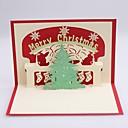 christmatree tarjetas de Navidad dimensionales
