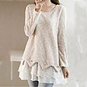 Womens Round Collar Fashion Sweet Knitwear Pullover(More Colors)