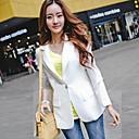 Womens Fashion Sheath Chiffon Splicing Outwear