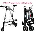 """8 """"mini bici plegable de una bicicleta de ciudad inteligente bicicleta ab ™ más pequeño y más ligero de la bicicleta"""