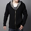 Mens  With Thickened Knit Sweater Cashmere