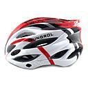 ungrol 23 respiraderos eps  rojo  blanco pc integralmente moldeado del casco en bicicleta (54-64cm)