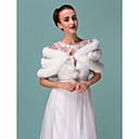Fur Wraps Faux Fur And Lace Wedding/Special Occasion Wraps