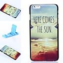 Splendid Sunrise Pattern Plastic Hard Cover for iPhone 6 Plus