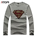 Autumn and Winter Fashion Mens Long Sleeve T-Shirt