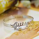 brazalete de perlas de oro de las mujeres ouxier