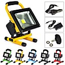 Waterproof 20W 2000LM 6500K Cold White Light Portable Emergency Rechargeable LED Flood Lamp (AC100-240V)