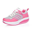 Nylon Womens Platforms Heel  Creepers Fashion Sneakers with Lace-Up for Sport Shoes(More Colors)