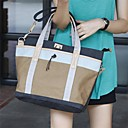 Unisex Outdoor Fashion Pu Canvas Messenger Bag(Assorted Colors)