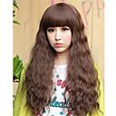 moda el pelo largo y rizado de Sylvia mujeres
