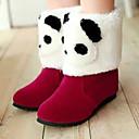 botas cortas de invierno patrón panda causal moda femenina chaw ph-20