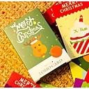 Feliz tarjeta de mensaje lomo navidad (conjunto de 56)