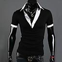 abrigo de manga corta con cuello en V camiseta de kisstiesmen