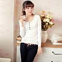 Zian Womens Pullover Slim Thicken Fleece T-Shirt