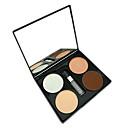 cuatro culminante tono en polvo ronda maquillaje bronceador