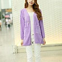 ICED™ Womens Fashion Pure Color Cardigan Sweater More Colors