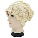 HouTong Women Flower Lace Beanie Hat