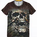 la moda de los hombres de arándanos 3d imprimir corta camiseta 2023