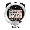 10 memorias de 1 / 100s 2 líneas de tiempo de cuenta atrás 10hamp;cronómetro digital calendario para pc2210 salto deportes