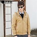 DaHeiLangNew Slim Sexy Top Designed Pure Cotton Mens Jacket Dust Coat Color:3 Colors Size:M-XXL