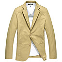 Fuleisi Men's Fashion Pure Cotton Suit Blazer