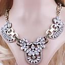 2014 venta hotting de Europa y América de zinc allly ahueca hacia fuera nc179 collar z flor de cristal de agua de la señora