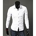 camisa del color sólido de los hombres de HD