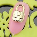 10PCS SH427 Flower Lock Design 3D Alloy nail art DIY Nail beauty Nail Decoration Nail Salon Nail