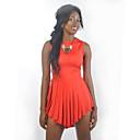 de moda de color brillante vestido ajustado yq022-1 de sedrinuo mujeres