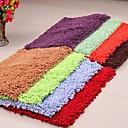 moda chenille pelusa piso antideslizante microfibra sólido estera alfombra 40  60cm