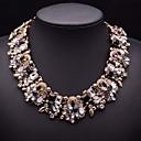 brillante collar de cristal de la joyería mulitcolor jq de las mujeres