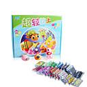 Beimeng 36 colores de arcilla plastilina colorido 3d juguetes de los niños