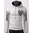 Quteng Mens Casual Hoodie Thermal Sweater