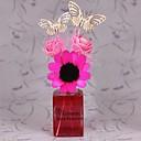 60ml subió difusores de caña con la mariposa y las flores