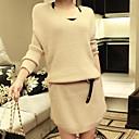 Lilijia Womens Fashion Knit Dress