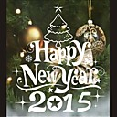Wall Stickers Wall Decals, Mural Christmas Tree Home Decoration PVC Wall Stickers