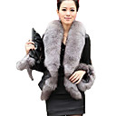 XT Fox Fur Coat_75 (Black)
